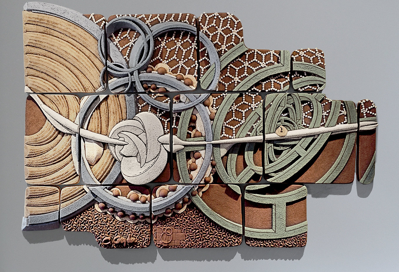 Equisymbrium No 2 By Christopher Gryder Ceramic Wall Sculpture Artful Home