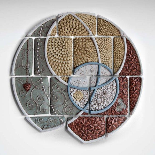 Arc Christopher Gryder Ceramic Wall Sculpture