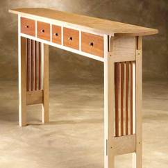 Sofa Console Tables Wood Antique Victorian Parlor Prairie Table By Chris Horney Hall Artful Home