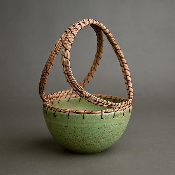 Basket By Hannie Goldgewicht Ceramic Basket Artful Home