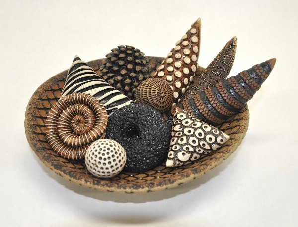 Bowls And Rattles Ii Kelly Jean Ohl Ceramic Sculpture
