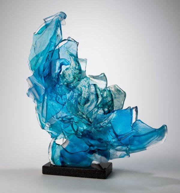 Large Glass Sculpture Art