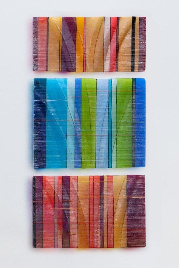 Tapestries In Glass Nina Falk Art Wall