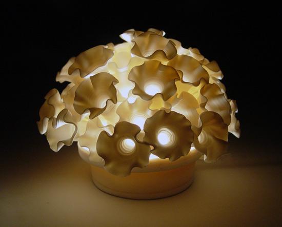 Flowers Mini Light By Lilach Lotan Ceramic Lamp Artful Home