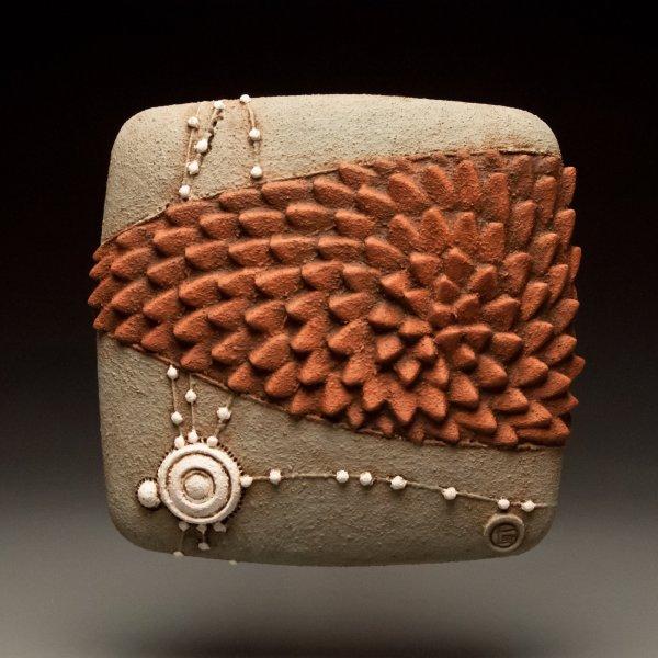 Open Link Christopher Gryder Ceramic Wall Sculpture