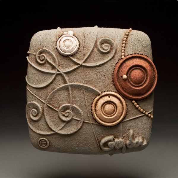 Frolic Christopher Gryder Ceramic Wall Sculpture