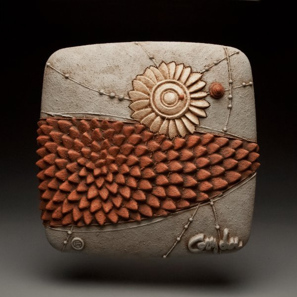Fresh Move Christopher Gryder Ceramic Wall Sculpture