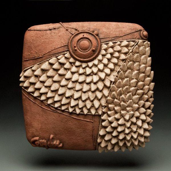 Structured Claim Christopher Gryder Ceramic Wall