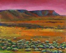 Desert Drifting Johnathan Harris Acrylic Painting