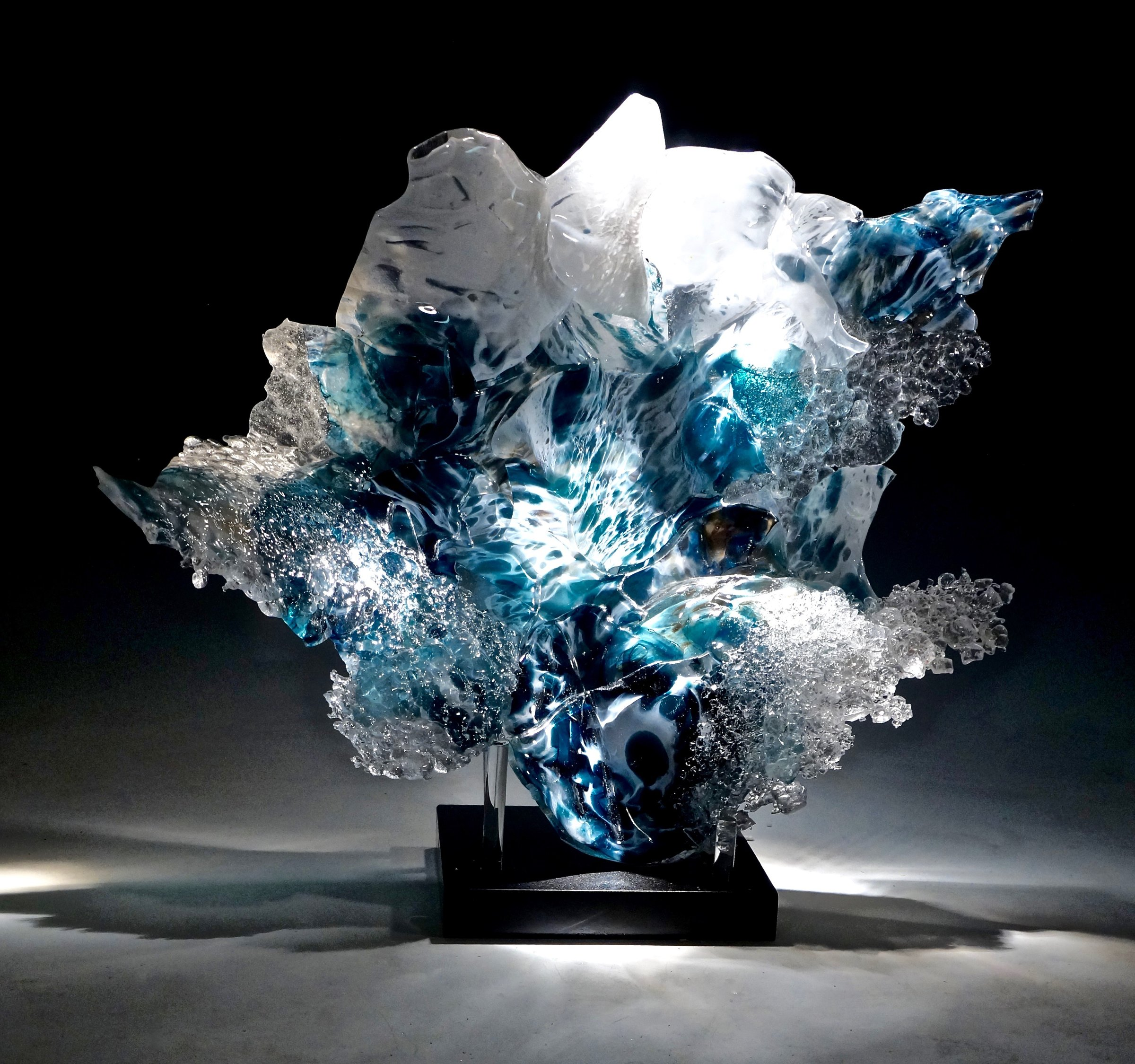 Silhouette By Caleb Nichols Art Glass Sculpture Artful Home