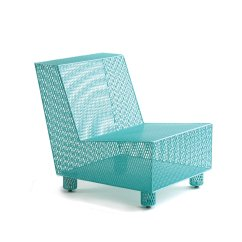 Turquoise Patio Chairs Teal Adirondack Chair No 35 In By Damian Velasquez Metal