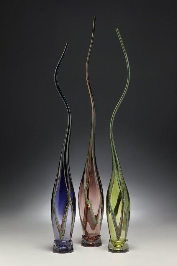 Swan Neck Alto Set Victor Chiarizia Art Glass