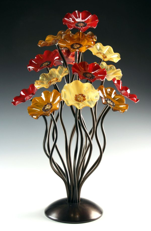 Breckenridge Tree Scott Johnson And Shawn Art Glass Sculpture Artful Home