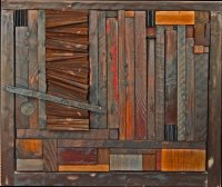 Attractive Wall Decoration And Reclaimed Wood Wall Art ...