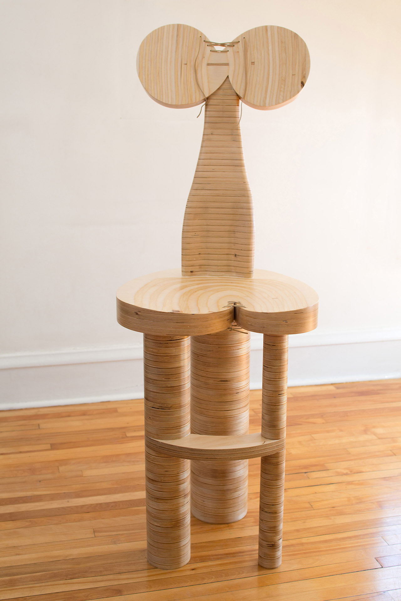 Dolores By Nathalie Guez Wood Chair Artful Home