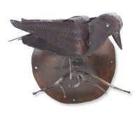 Raven Wall Sculpture by Ben Gatski and Kate Gatski (Metal ...