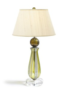 Jewel Lamp in Kiwi by Tracy Glover (Art Glass Table Lamp ...