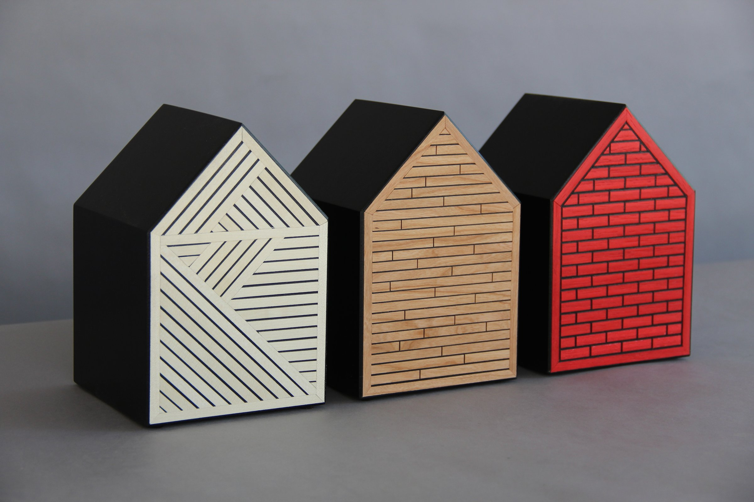 The Three Little Pigs Architecture 101 by Kevin Irvin Wood Wall Sculpture  Artful Home