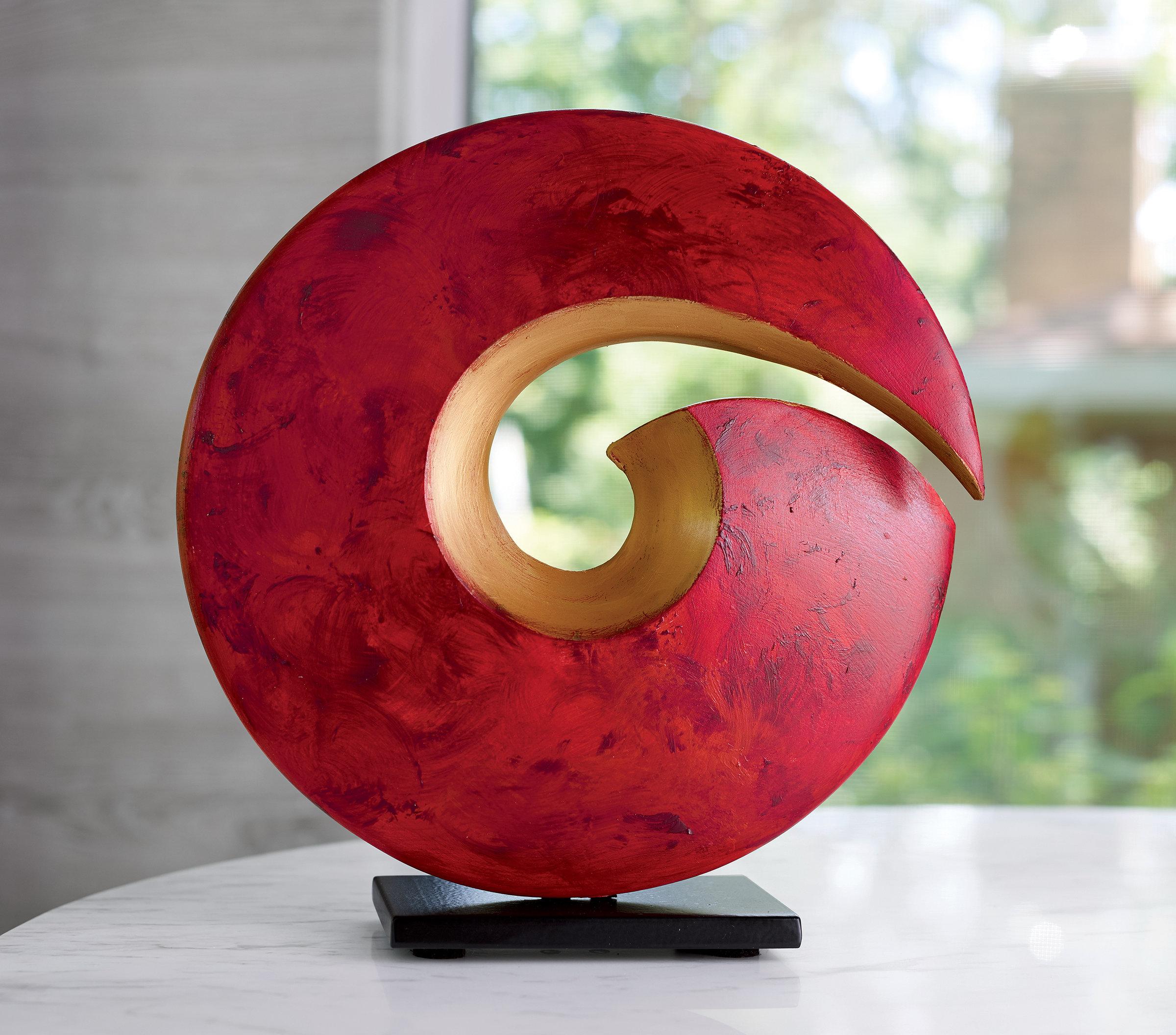 Spiral Sculpture by Cheryl Williams Ceramic Sculpture  Artful Home