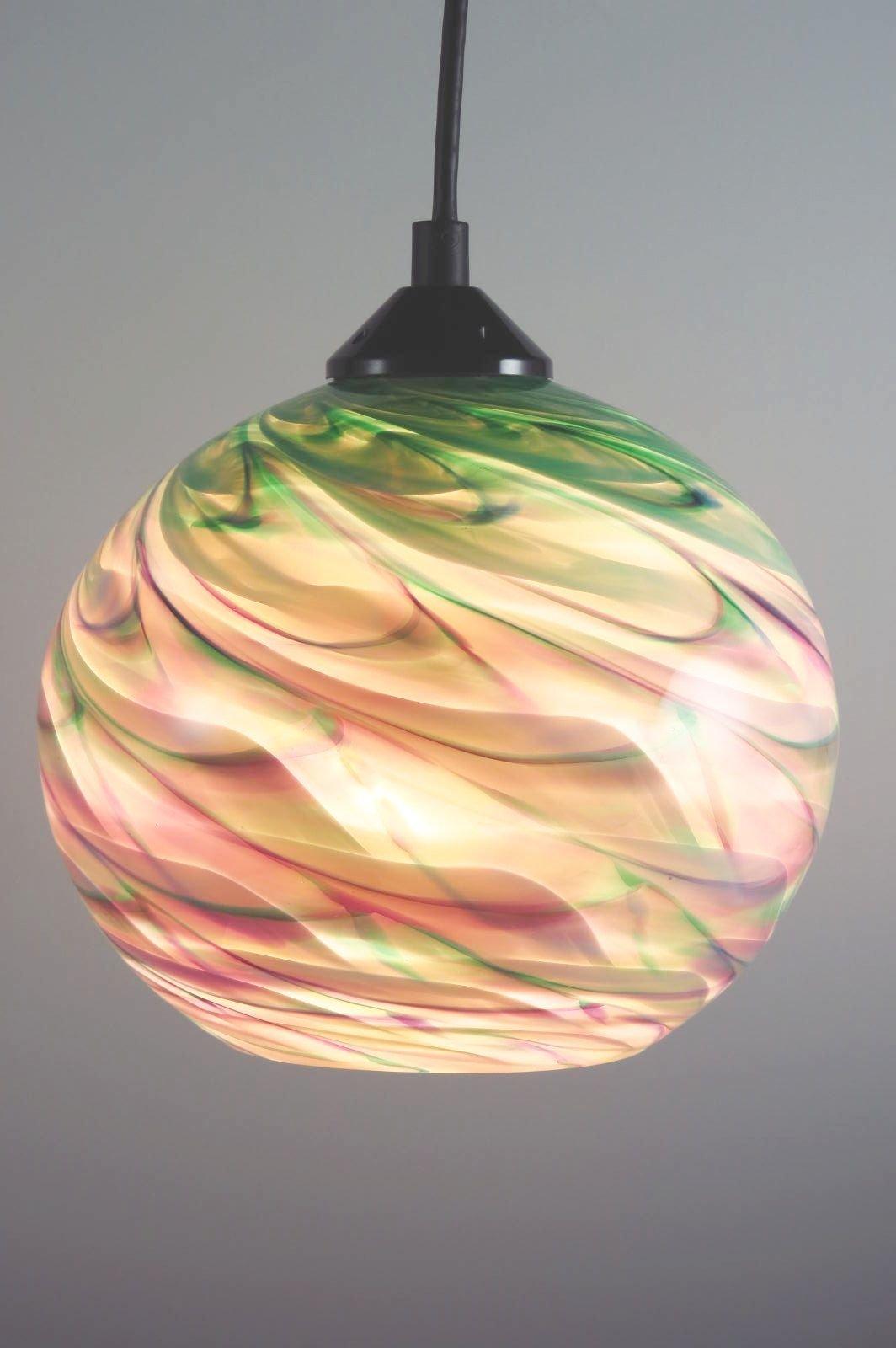 Colored Cord Pendant Light