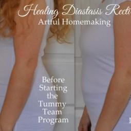 Week 2 With the Tummy Team {Healing Diastasis Recti}
