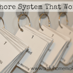 A Chore System That Works
