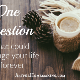 One Question That Could Change Your Life Forever