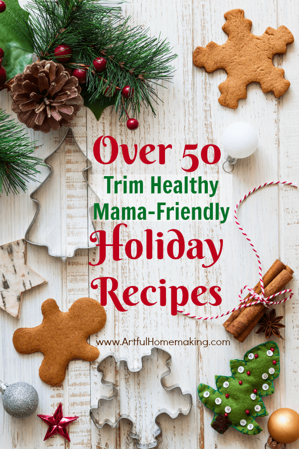 trim healthy mama holiday recipes