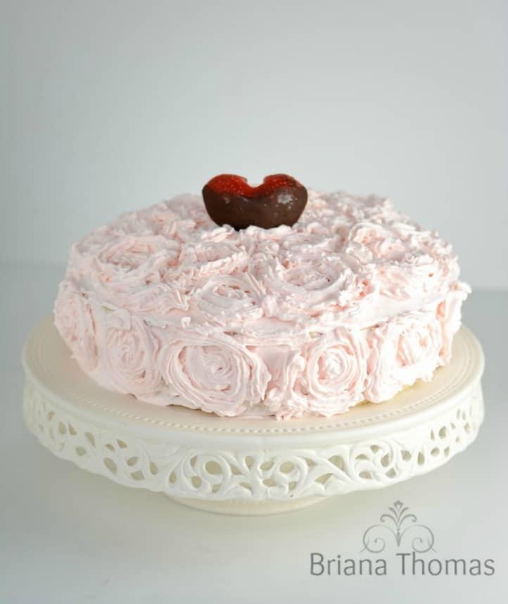THM Valentine's Cake