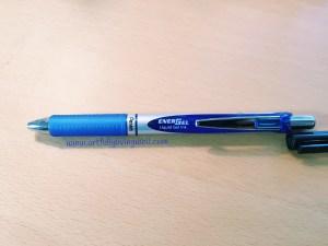 Blue EnerGel Pen from Pentel