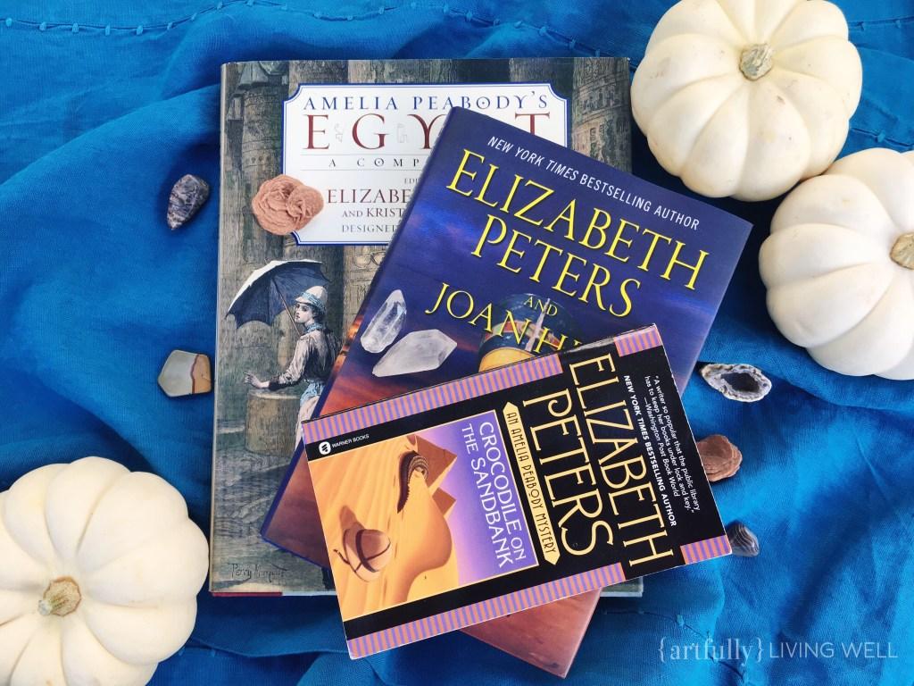 Amelia Peabody books artfullylivingwell.com