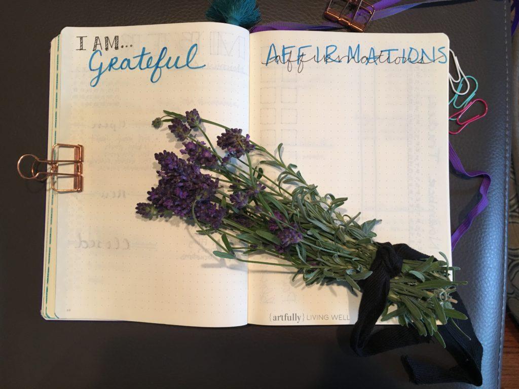 plan with me November www.artfullylivingwell.com