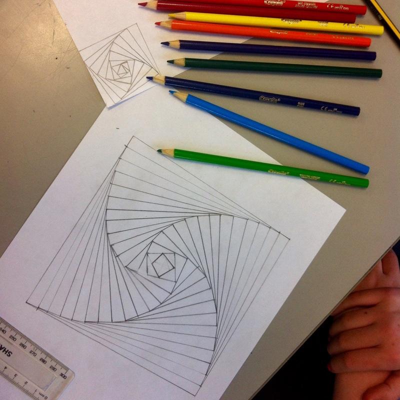 Mathematical art lessons  Artful Maths