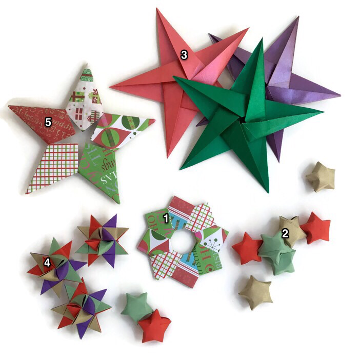christmas origami diagram wiring 2 way switch decorations artful maths http www fun com support files lucky star print pdf
