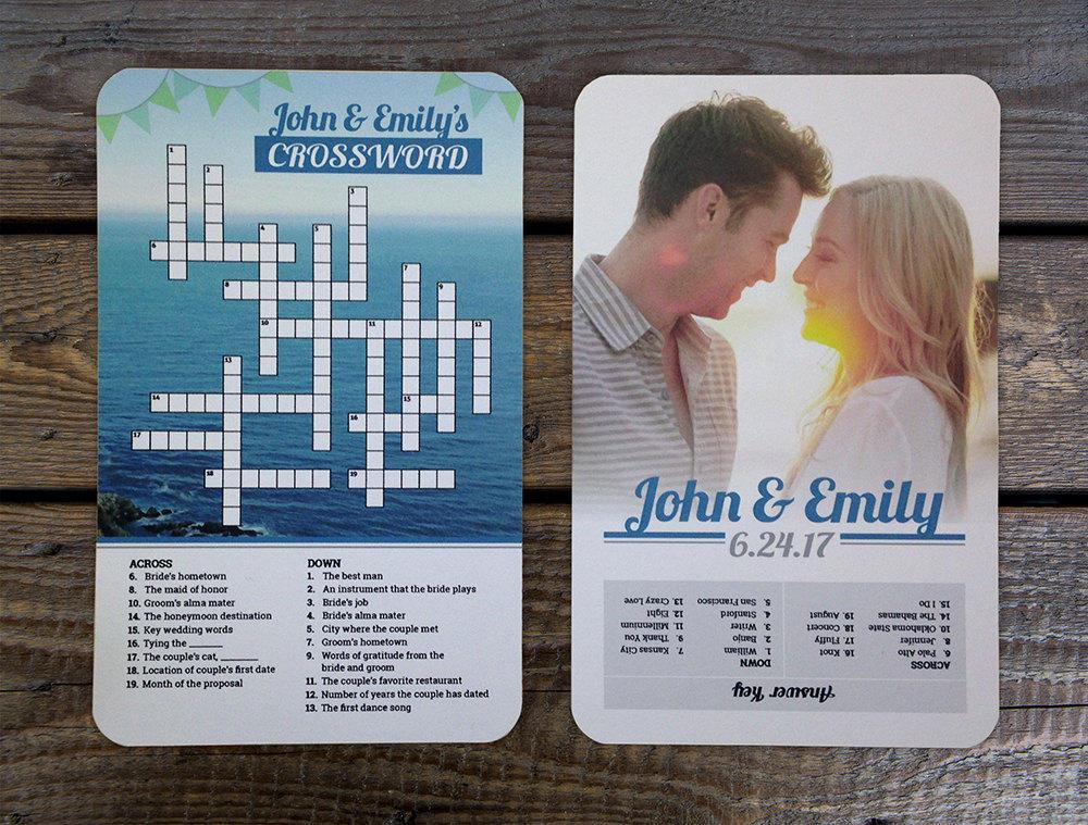 Dating options crossword