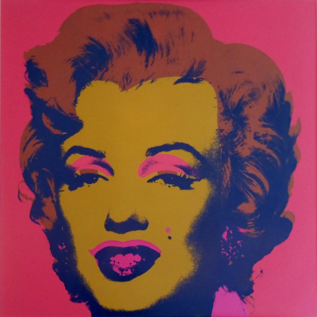 Marilyn Monroe Andy Warhol Lex Harding AFN tentoonstelling