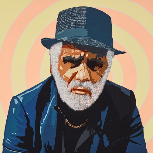 Richard Bell ME  Archibald Prize 2015  Art Gallery NSW