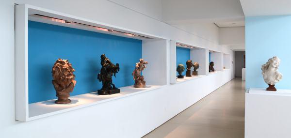 Sculptures Art Gallery Exhibit