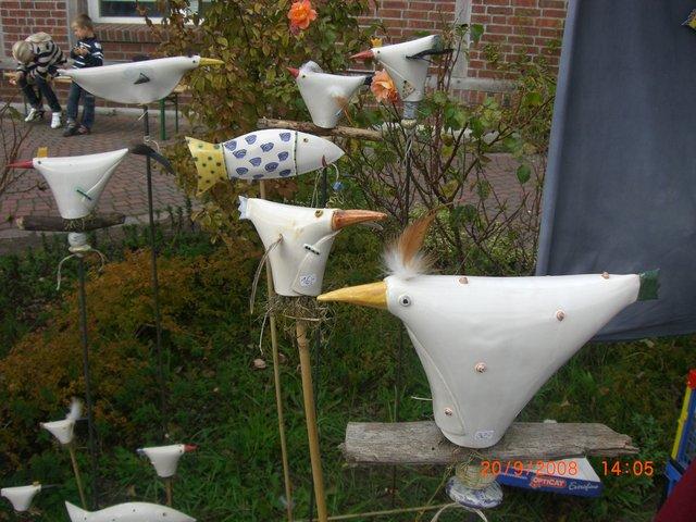ArtGerecht Unikatkeramik  Gartenkeramik