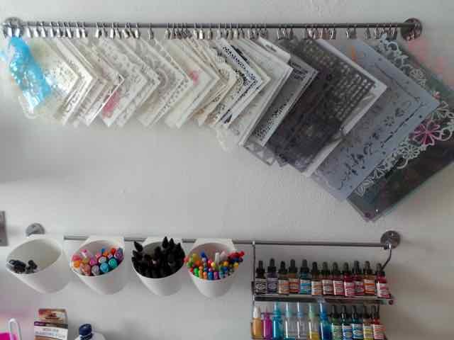 My Stencil Display Rack