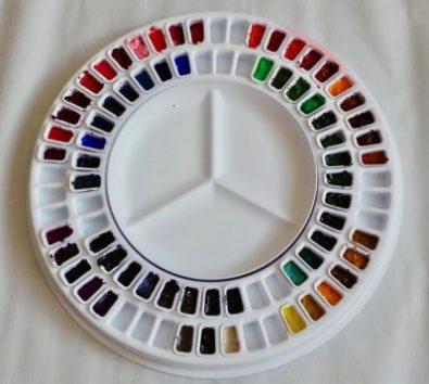 Watercolour Carousel Palette