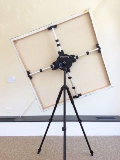 Artristic Easel is so versatile for using in many positions and angles