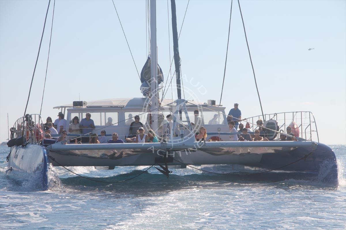 A Maxi Catamaran Cruise In Monaco Yacht Rental Arthaud