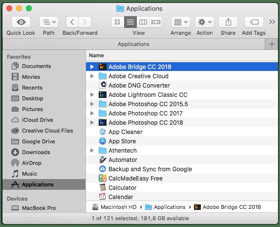 MacOS Finder, Macintosh'ta Klasörler ve Dosyalarla Çalışma