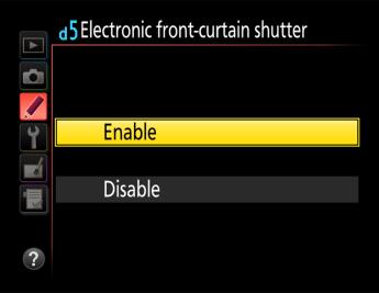 Elektronik Shutter (Elektronik Ön Perde Deklanşörü) Nedir?