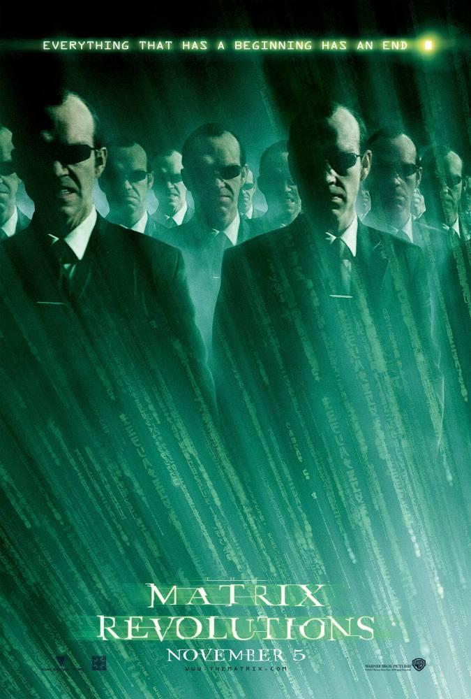 the matrix revolutions movie posters 2