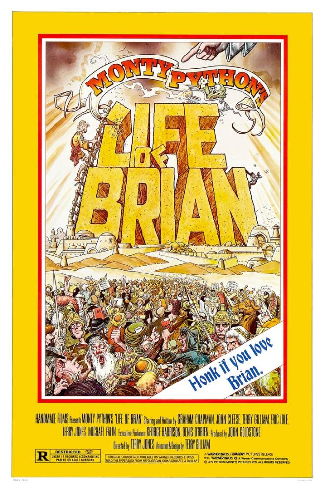 monty python s life of brian poster