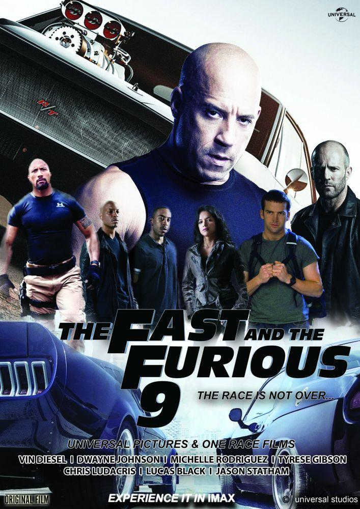 fast furious 9 movie poster