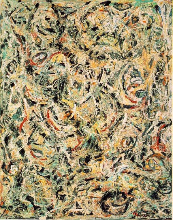Jackson Pollock Eyes in the Heat 1946