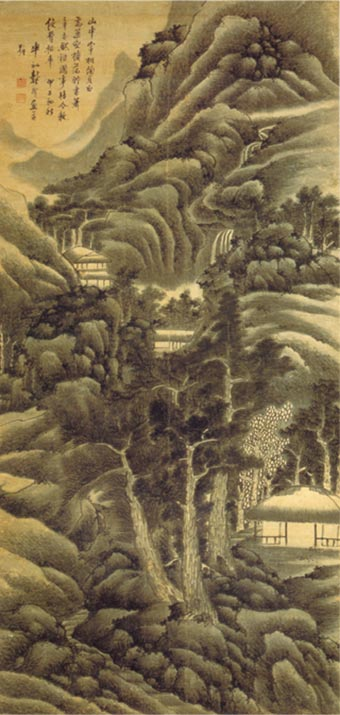 Gong Xian  Chinese Painter  The Art History Archive